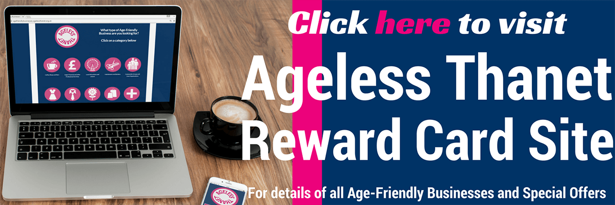 Visit Ageless Thanet Reward Card Site