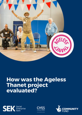 How was the Ageless Thanet project evaluated